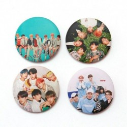 1 - 7db / szett Kpop Bangtan Boys Pins Love Yourself Tears Album Brosses Set Badge