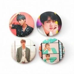 11. - 7db / szett Kpop Bangtan Boys Pins Love Yourself Tears Album Brosses Set Badge