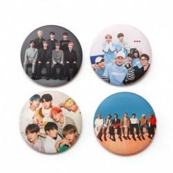 6. - 7db / szett Kpop Bangtan Boys Pins Love Yourself Tears Album Brosses Set Badge