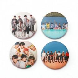 5. - 7db / szett Kpop Bangtan Boys Pins Love Yourself Tears Album Brosses Set Badge
