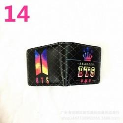 BTS - K - ADEER kihajtható pénztárca - KPOP - BTS - Bangtan Boys - 14