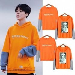 L - JIMIN BTS Bangtan kapucnis pulóver Kpop koreai divattérkép a Soul 7 Dynamite MOTS-ból