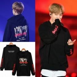 L - JIMIN BTS Bangtan kapucnis pulóver Kpop koreai divattérkép a lélek 7 személyből MOTS