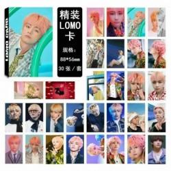 V (9) - KPOP BTS Bangtan Boy Album LIEBE SICH Antwort Photo Card Lomo Card PhotoCard