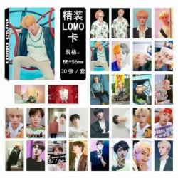 JIN (7) - KPOP BTS Bangtan Boy Album LIEBE SICH Antwort Photo Card Lomo Card PhotoCard