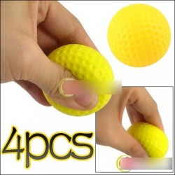 4 db Fény képzés gyakorlati Golf Sport puha labda