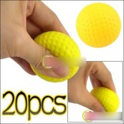 20 db Fény képzés gyakorlati Golf Sport puha labda