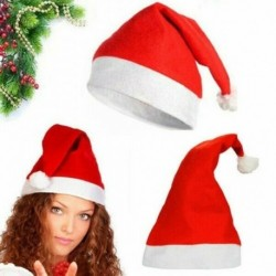NEM Éneklő tánc - Elektromos piros karácsonyi kalap énekelni táncoló Mikulás sapka zene swing fél vicces