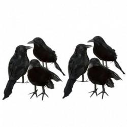 Nincs szín - Fekete Lifesize Raven filmprofil hamis varjú Halloween hamis madárvadászat