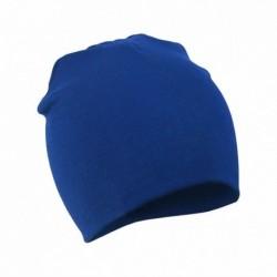 Királykék - Baby Cap Beanie Boys Girls tipegő csecsemő gyermekek pamut puha aranyos unisex kalap