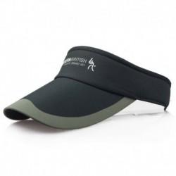 Fekete - Divat tenisz sportok állítható sapka napellenző golf sapka fejpánt kalap strandvizor
