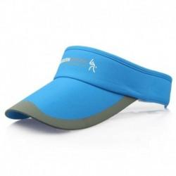 Kék - Divat tenisz sportok állítható sapka napellenző golf sapka fejpánt kalap strandvizor