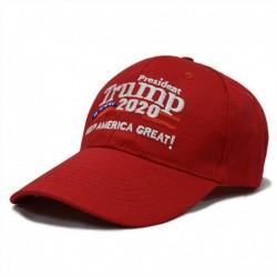 Piros-A - Donald Trump 2020 Tartsd újra Amerikát nagyszerűvé Elnöki választási kalap vörös A.