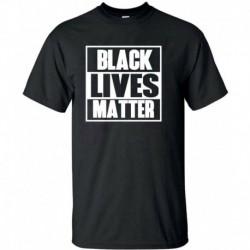 XL - BLACK LIVES MATTER póló ANTI RACISM Mozgalom Riot Protest Justice Férfi hölgyek