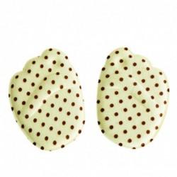 Khaki pontok - 1Pair Medical Metatarsal puha párnák a nők lábfejének csúszásgátló fit magas sarkú meleg