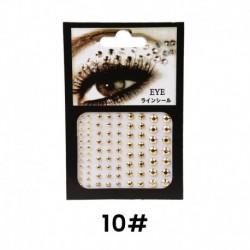 10 * - Jewel szem smink Crystal Eye Gems tetoválás szemceruza Diamond Glitter smink Egyesült Királyság