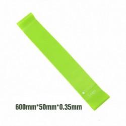 Zöld - Resistance Zenekarok Rugalmas gumiszalagok Fitness Loop Jóga Pilates Home GYM Fitness