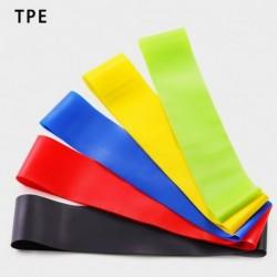 5 színű - Resistance Zenekarok Rugalmas gumiszalagok Fitness Loop Jóga Pilates Home GYM Fitness