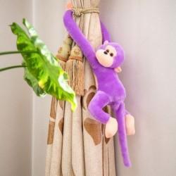 Lila - Színes hosszú karú majom lógó puha plüss baba kitömött állat játék gyerek baba Egyesült Királyság