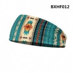 * 6 - Rugalmas Boho széles fejpánt hajszalag futó jóga turbán női puha fejpakolás