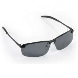 Fekete   Szürke - Férfi polarizált lencse vezetés kültéri kerékpáros napszemüveg szemüveg