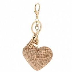 Arany - Szív kristály strassz medál kulcstartó táska kézitáska kulcstartó kulcstartó
