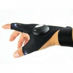 Jobb kéz - Hasznos LED-es világító ujjas világító kesztyűk automatikus javítás a szabadban villogó tárgy