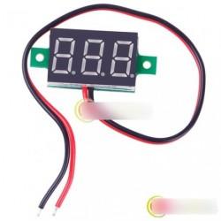 """Mini 0.36 """"3 LED kijelző DC 2.5-30V Voltmeter"""