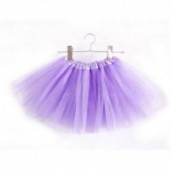 Halványlila - Baba lányok és gyerekek tánc bolyhos tutu szoknya Pettiskirt balett öltöztetős jelmez