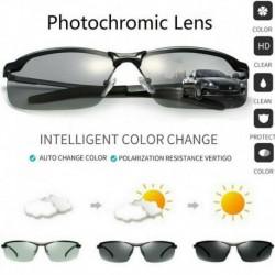 Nincs szín - Férfi fotokróm lencse polarizált napszemüveg kültéri vezetési horgászszemüveg Egyesült Királyság