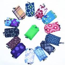Nincs szín - Összecsukható újrafelhasználható tekercses táska Eco váll bevásárló kézitáska hajtogatott tasak