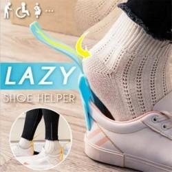 1db - 2 * Lusta cipősegítő Unisex kezelt cipőkürt Könnyen be- és kikapcsolható cipőemelő segítő