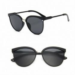 Fekete lencse - Vintage női tükörtervező lapos lencsés napszemüveg retro szemüveg szemüveg