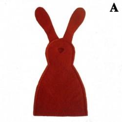 Piros - 1XCute húsvéti ajándékok nyuszi tojás készlet DIY lakberendezési ajándék gyerekeknek Új