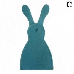 Kék - 1XCute húsvéti ajándékok nyuszi tojás készlet DIY lakberendezési ajándék gyerekeknek Új