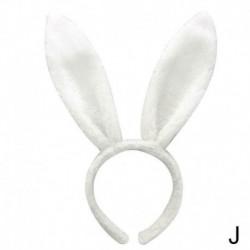 fehér - Húsvéti felnőtt gyermekek hajpánt nyúl fül fejpánt plüss puha haj kiegészítők