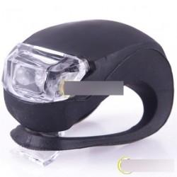 Kerékpár Szilikon LED Első hátsó biztonsági lámpa
