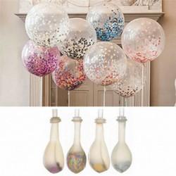 Nincs szín - 20db színes konfetti léggömb születésnapi esküvői party dekoráció hélium lufi 12 &quot