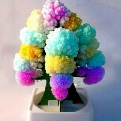 Nincs szín - Amerikai varázslatos növekvő fa kristályos játékszer fiúk lányok mulatságos ajándék ajándék