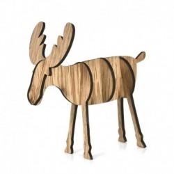 1db nagy tölgy (14x15cm) - 3D karácsonyfa fából készült medálok függő DIY karácsonyi dekoráció otthoni party