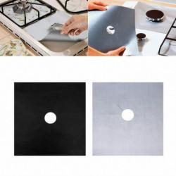 Nincs szín - 4db alumínium gázfólia tűzhely égő védőburkolat újrafelhasználható bélés tiszta szőnyegpad