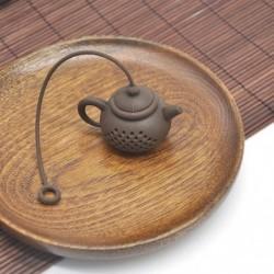 Kávé - Szilikon teáskanna alakú tea infúziós szűrő tartós teazsák levélszűrő diffúzor