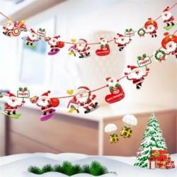 * 7 1PC Mikulás (2m) - Karácsonyi party függő dekoráció Mikulás hóember karácsonyi fa díszek
