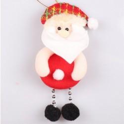 * 12 1db Mikulás (17x8cm) - Karácsonyi party függő dekoráció Mikulás hóember karácsonyi fa díszek