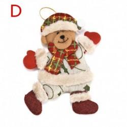 * 22 D 1db (118 * 14cm) - Karácsonyi party függő dekoráció Mikulás hóember karácsonyi fa díszek