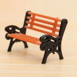 Nincs szín - Mini kerti dísz miniatűr park ülőpad kézműves tündér babaház dekoráció barkácsolás