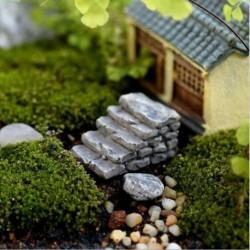 1PC Gary egyenes lépés - DIY figura kézműves növény fazékkerti dísz miniatűr tündérkert dekoráció Új