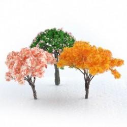 3db Mini fa - DIY figura kézműves növény fazékkerti dísz miniatűr tündérkert dekoráció Új