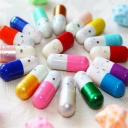 Nincs szín - Sok 50db üzenet egy üveg kapszulában Levél szerelmes barátság fél színes tabletták