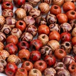 100db fa gyöngy (1cm) - 100db Vegyes kagylóhéj állati virágok gyöngyök varázsa medál ékszerek barkács készítés